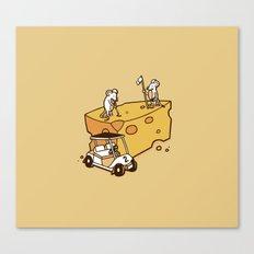 Par Cheesy Canvas Print