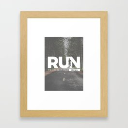 Run Cheaper Than Therapy Running Runners Treatment Framed Art Print