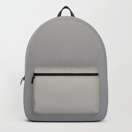 Gradient Blend Pantone 2021 Color of the Year Ultimate Gray 17-5104 and Lead Crystal 20-0087 Backpack