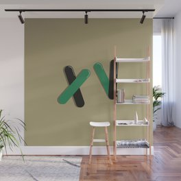 Graphic Poster #15 - XV Wall Mural