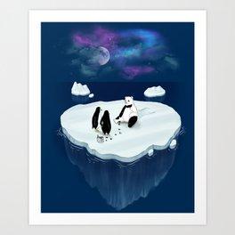 Drunken Polar Night Art Print