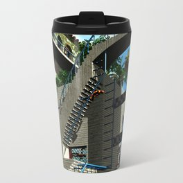 Optical Illusion - Tribute to Escher Travel Mug