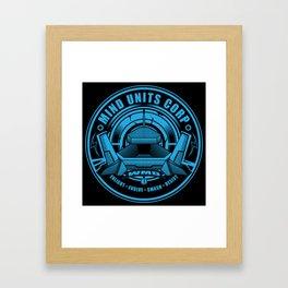 Mind Units Corp - Weapons of Mass Destruction Resistance Version Framed Art Print