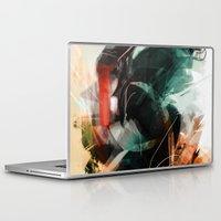 saturn Laptop & iPad Skins featuring Saturn by Streaac