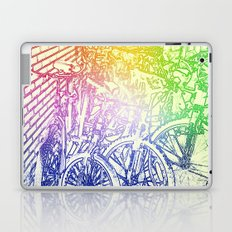 bike yard 2 Laptop & iPad Skin