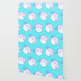 Owl Tea Wallpaper