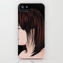 japan girl iPhone Case