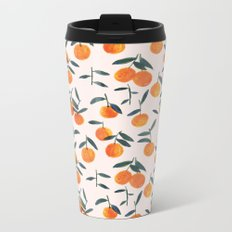 Clementines Metal Travel Mug