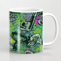 key Mugs featuring Key by Emma Stein