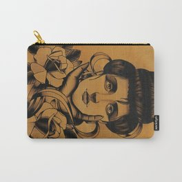 WOMAN and Roses - TATTOO Carry-All Pouch