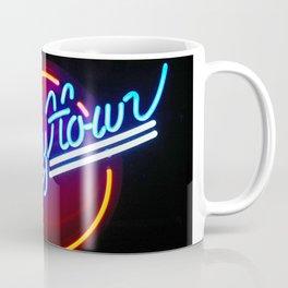 Happy Hour Neon Collage - Bar or Kitchen Decor Coffee Mug