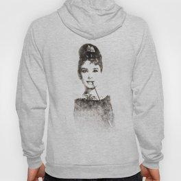 Audrey Hepburn portrait 01 Hoody