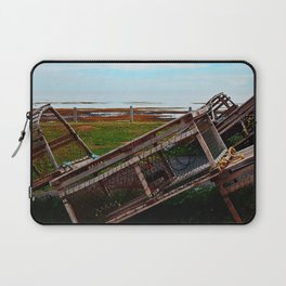 Lobster Traps and the Sea Laptop Sleeve