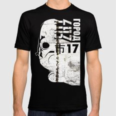 City 17 Black SMALL Mens Fitted Tee
