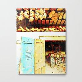 Hortus Conclusus: farmhouse Metal Print