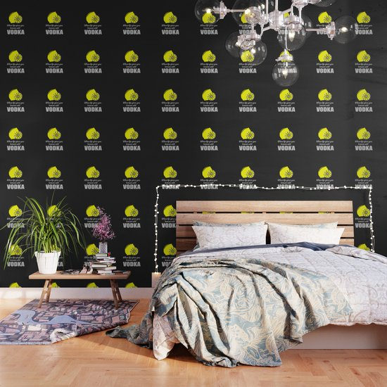 If Life Gives You Lemons Add Vodka Quote Wall Sticker WS-41468