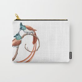Indian Paradise Flycatcher (Terpsiphone paradisi) Carry-All Pouch