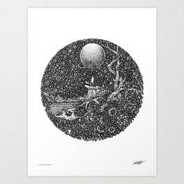 SAFE HAVEN - Visothkakvei Art Print