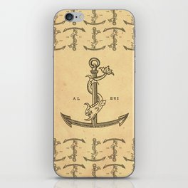 Aldus Manutius Printer Mark iPhone Skin