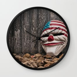 Why So Stars & Stripes? Wall Clock