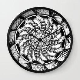 Spiral Universe Wall Clock