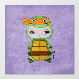 A Boy - Michelangelo TMNT Canvas Print
