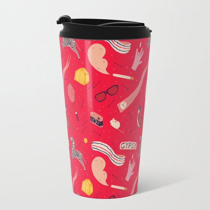 Royal Pattern Travel Mug