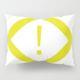 warning sign Pillow Sham
