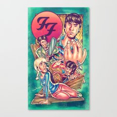 Waiting For FF Everlong Canvas Print