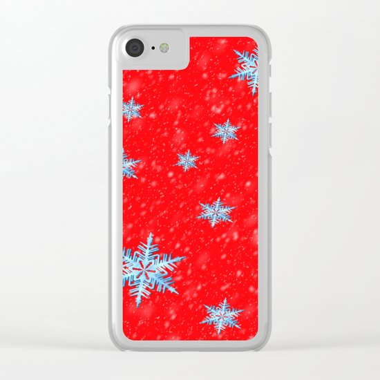 Let it snow Clear iPhone Case