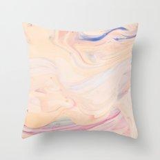 Marble Art V 16 #society6 #decor #fashion #lifestyle Throw Pillow