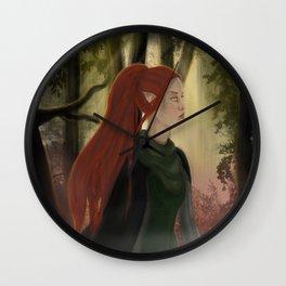 dalish wanderer Wall Clock