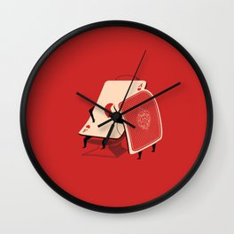 the Brave of Hearts Wall Clock