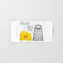 Cheesy Couple Hand & Bath Towel
