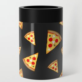 Cool and fun pizza slices pattern Can Cooler
