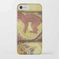 journey iPhone & iPod Cases featuring Journey by SpaceFrogDesigns