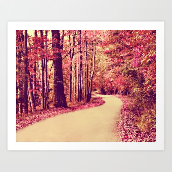DAYDREAMER'S PATH Art Print