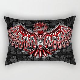 Eagle Tattoo Style Haida Art Rectangular Pillow