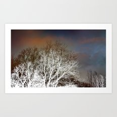 December magic Art Print