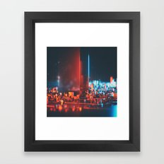 ACETONE MONOLTH (everyday 05.15.15) Framed Art Print