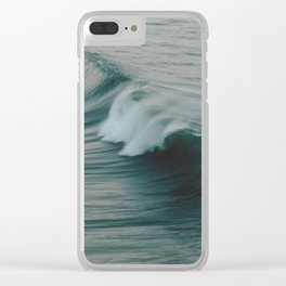 She rushes in Clear iPhone Case
