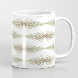 Watercolor Fern Pattern 2 Coffee Mug