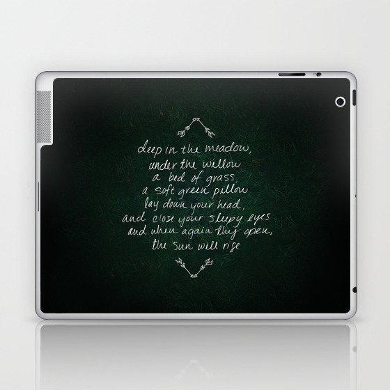 Rue's Song Laptop & iPad Skin