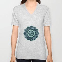Eastern Mandala 1 Unisex V-Neck