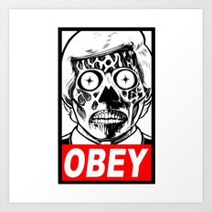 They Live Art Print