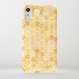 Honeycomb Pattern iPhone Case