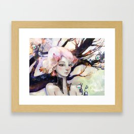 Enramada Framed Art Print