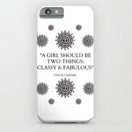 Designer Mandala Classy and Fabulous Fashion Graphic Design iPhone Case