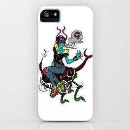 Bug Rider iPhone Case
