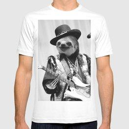 Rockstar Sloth #2 T-shirt